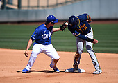 MLB-Milwaukee Brewers at Los Angeles Dodgers-Mar 16, 201