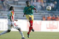 Fotball<br /> African Nations Cup 2004<br /> Afrika Mesterskapet 2004<br /> Foto: Digitalsport<br /> Norway ONLY<br /> <br /> FIRST ROUND - GROUP B - 040202<br /> SENEGAL v MALI<br /> <br /> MAHAMDOU DIARRA (MALI) / SALIF DIAO (SEN)