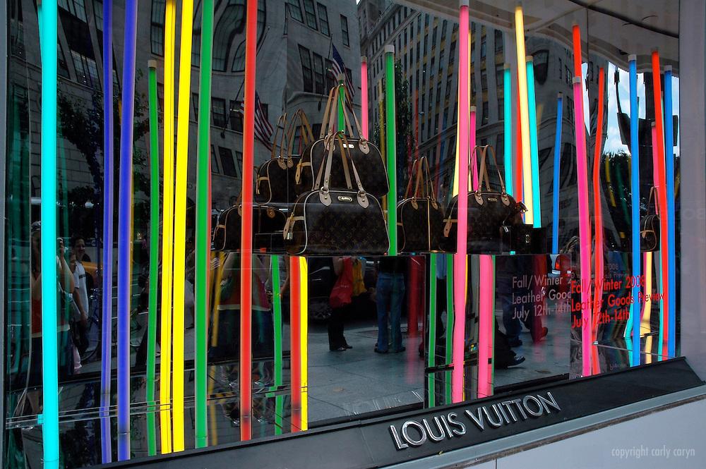 Louis Vuitton window