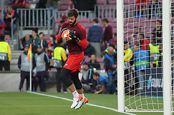 May 1, 2019 - Barcelona, Barcelona, Spain - Becker of Liverpool in action before UEFA Champions League football match, between Barcelona and Liverpool, Mayl 01th, in Camp Nou stadium in Barcelona, Spain. (Credit Image: © AFP7 via ZUMA Wire)