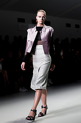 """London, 17 September 2013<br /> LONDON FASHION WEEK<br /> DESIGNER NAME: Emilio de la Morena<br /> <br /> BACKGROUND: Born in Spain, Emilio studied at Central Saint Martins and the London College of Fashion. He has worked for Rafael Lopez and Jonathan Saunders. Emilio is by nature an intellectual designer, whose passion lies in exploring new processes and ways of putting clothes together. He manages to create surprising and fastidiously sexy cocktail looks by modernizing old and obscure craftsmanship techniques. But just as important as the intellectual explorations behind a collection, is the way each garment makes the wearer feel - reinforcing her personality and a sensual femininity.<br /> <br /> SIGNATURES: """"Sculptural chic.""""<br /> <br /> IDEAL CLIENT: """"She is first and foremost strong, modern and in control. She knows her own mind and is not afraid to stand out; nor is she scared of expressing herself in a vibrant and bold way. She loves playing with her personality and uses dress to express the many layers of her character, always managing to strike the right balance between elegantly refined and provokingly sexy.  This woman is in control of her life both emotionally and economically, she lives in or close to a major metropolis, spending most if not all her time in the city. It is important that the work she does stimulates her. Whatever her chosen field, it will be one that she can really commit to. She will be at the centre of the work that she does whatever the industry and whatever the level. Don't mess with this woman; she will have you wrapped around her little finger in no time.""""<br /> <br /> PRE-SPRING 2013 COLLECTION: """"I'm building on the direction seen in our autumn/winter collection, showing the Emilio woman developing strongly into the sensual urban woman, with a strong sense of who she is and in control of where her life is heading. I am making further explorations into Spanish artisanal techniques, dusting them off and making them fresh and rele"""
