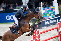 Lindelow Douglas, SWE, Casquo Blue,<br /> CHIO Rotterdam 2021<br /> © Hippo Foto - Sharon Vandeput<br /> 4/07/21