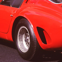 Vintage Ferrari Racing GTO at Louis Vutton Classic in Rockefeller Center