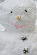 Snowman, London, Britain.