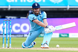 Jonny Bairstow of England plays a reverse sweep - Mandatory by-line: Robbie Stephenson/JMP - 30/06/2019 - CRICKET - Edgbaston - Birmingham, England - England v India - ICC Cricket World Cup 2019 - Group Stage