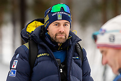 February 9, 2019 - Lahtis, FINLAND - 190209  Rikard Grip, head coach of Sweden at the women's sprint qualification during the FIS Cross-Country World Cup on February 9, 2019 in Lahti..Photo: Johanna Lundberg / BILDBYRN / 135946 (Credit Image: © Johanna Lundberg/Bildbyran via ZUMA Press)