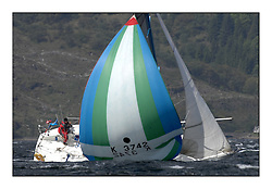 Brewin Dolphin Scottish Series 2011, Tarbert Loch Fyne - Yachting - Day 2 of the 4 day series. Windy!.GBR3724 ,Hops ,Bolton/Robertson ,CCC ,Davidson 36..