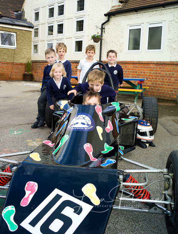 The racing car project at East Claydon School