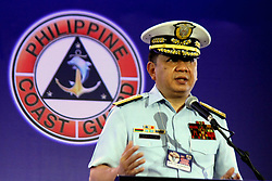May 19, 2017 - Davao, Philippines - Philippine Coast Guard Rear Admiral and Chairman of Unlad Pilipinas Sulong Federalismo, Inc. Luis M. Tuason Jr. shares the information about the Federalism Government during the 2 days event (May 19-20, 2017) 33rd Philippine Coast Guard Auxiliary (PCGA) National Convention at SMX Convention Center in Davao City  (Credit Image: © Gregorio B. Dantes/Pacific Press via ZUMA Wire)