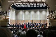 Nederland, the netherlands, 4-5-2018Na afloop van de dodenherdenking aan het Trajanusplein is er een gratis herdenkingsconcert voor de inwoners van de stad in concertgebouw de Vereeniging .Foto: Flip Franssen