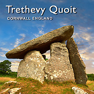 Trethevy Quoit Neolithic Portal Tomb - Pictures Images & Photos