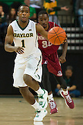 WACO, TX - DECEMBER 17: Kenny Chery #1 of the Baylor Bears brings the ball up court against the New Mexico State Aggies on December 17, 2014 at the Ferrell Center in Waco, Texas.  (Photo by Cooper Neill/Getty Images) *** Local Caption *** Kenny Chery