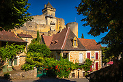Castelnaud-la-Chapelle is a commune in the Dordogne department in Nouvelle-Aquitaine in southwestern France.<br /> <br /> The Château de Castelnaud-la-Chapelle is located in the commune. The river Céou flows northward through the western part of the commune, then flows into the Dordogne, which forms all of the commune's northern border. The village is located above the confluence of the two rivers.