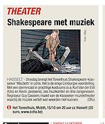 MCBTH: article het belang van Limburg (BE)