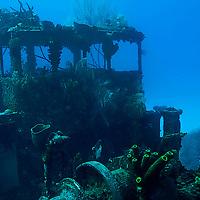Wheelhouse Viewed from Port Side Near Stern, Doc Paulson, Grand Cayman