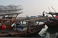 = the port and fishermen in the village of  Al Khor  QATAR   /// port et pecheurs indiens (du kerala) dans le village de  Al Khor  QATAR +
