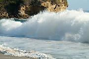 Crashing Waves at Crescent Bay in Laguna Beach