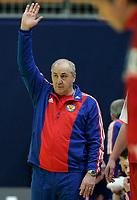 Russlands Trainer Vladimir Maximov. © Manu Friederich/EQ Images