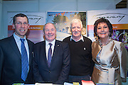 NO FEE PICTURES<br /> 23/1/16 Minister for Tourism Michael Ring and Maureen Ledwith, organiser of the Holiday World Show at the Tipperary Tourism stand at the Holiday World Show at the RDS in Dublin. Picture: Arthur Carron
