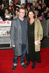 © Licensed to London News Pictures. Dave Rowntree attends The Class of 92  World Film Premiere at The Odeon West End, Leicester Square, London on 01 December 2013. Photo credit: Richard Goldschmidt/LNP