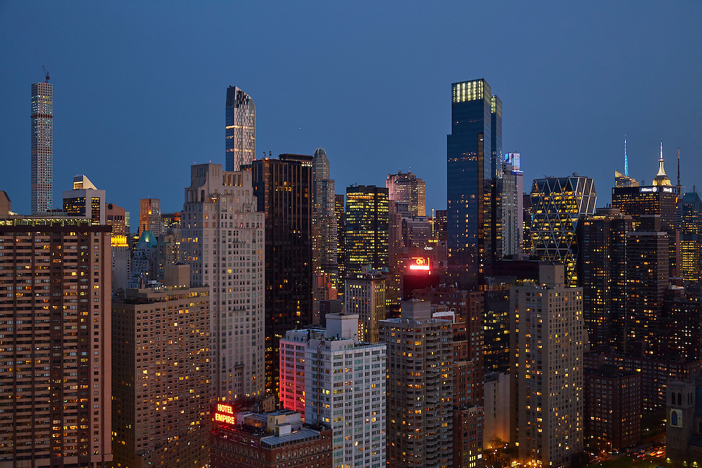 View from 160 West 66th Street, 45th Floor