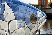 Fish sculpture, Belfast, Northern Ireland