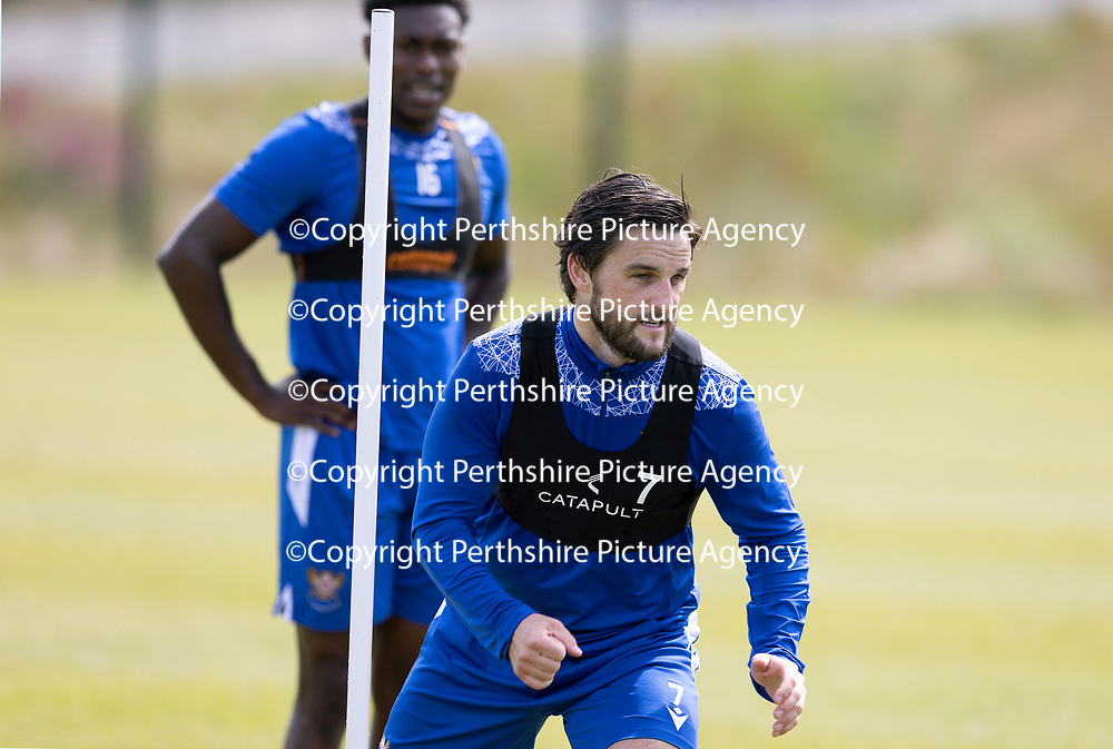 St Johnstone Training…..<br />Trialist Craig Conway pictured during training ahead of Saturdays opening game of the season at Dundee United.<br />Picture by Graeme Hart.<br />Copyright Perthshire Picture Agency<br />Tel: 01738 623350  Mobile: 07990 594431