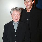 Musical Olivier Amsterdam, Jacques d'Áncona en vriend Hans Langhout