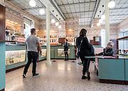 Milan, Fondazione Prada. the cafè