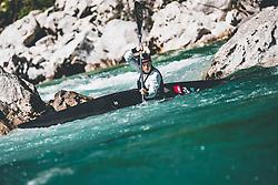 Eva Tercelj during her Covid-19 restrictions practice session in Trnovo ob Soci, Bovec on 7. May 2020, Slovenia. Photo By Grega Valancic / Sportida