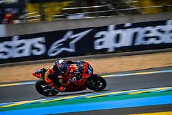 May 18, 2018 - Le Mans, France - 44 MIGUEL OLIVEIRA (POR) RED BULL KTM AJO (FIN) KTM MOTO2 (Credit Image: © Panoramic via ZUMA Press)