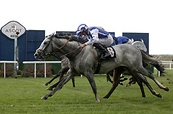 Dark Shift ridden by Daniel Tudhope wins The Racing To School Classified Stakes during the Autumn Racing Weekend at Ascot Racecourse, Berkshire. Picture date: Friday October 1, 2021.