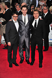 © licensed to London News Pictures. London, UK  22/05/11 cast of the Inbetweeners attends the BAFTA Television Awards at The Grosvenor Hotel in London . Please see special instructions for usage rates. Photo credit should read AlanRoxborough/LNP