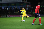 *** during the Vanarama National League match between York City and Chester FC at Bootham Crescent, York, England on 13 November 2018.