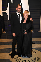 Eric White, Patricia Arquette attending the 2019 Vanity Fair Oscar Party hosted by editor Radhika Jones held at the Wallis Annenberg Center for the Performing Arts on February 24, 2019 in Los Angeles, CA, USA. Photo by David Niviere/ABACAPRESS.COM