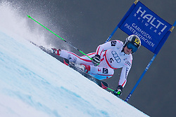 17.02.2011, Kandahar, Garmisch Partenkirchen, GER, FIS Alpin Ski WM 2011, GAP, Riesenslalom, im Bild Kathrin Zettel (AUT) // Kathrin Zettel (AUT) during Giant Slalom Fis Alpine Ski World Championships in Garmisch Partenkirchen, Germany on 17/2/2011. EXPA Pictures © 2011, PhotoCredit: EXPA/ J. Groder