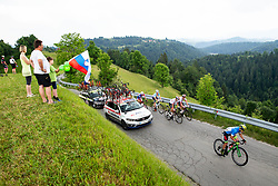 Matej Drinovec (SLO) of Slovenia during 3rd Stage of 26th Tour of Slovenia 2019 cycling race between Zalec and Idrija (169,8 km), on June 21, 2019 in Slovenia. Photo by Vid Ponikvar / Sportida