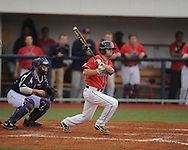 Ole Miss' Holt Perdzock (42) vs. Lipscomb at Oxford-University Stadium in Oxford, Miss. on Sunday, March 10, 2013. Ole Miss won 9-8. The Rebels improve to 16-1.