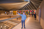 John Pawson, lead designer - The Design Museum has moved to Kensington High Street from its former home as an established London landmark on the banks of the river Thames.  The new museum will be devoted to contemporary design and architecture, an international showcase for the many design skills at which Britain excels and a creative centre, promoting innovation and nurturing the next generation of design talent. His Royal Highness toured the museum to view the transformation of a modernist building from the 1960s, which was the former Commonwealth Institute.  17  November 2016, London.