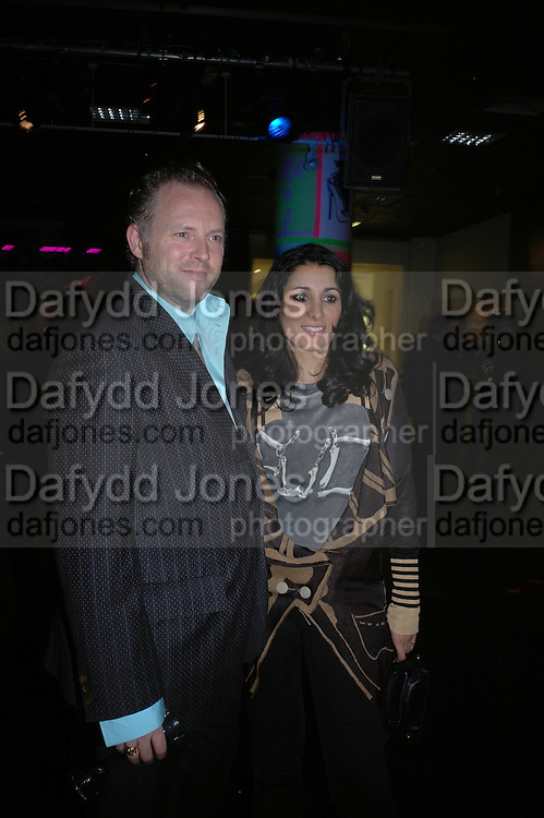 Serena Rees and Joe Corre. Future Punk Launch party at Selfridges, Oxford St. : 9th March. ONE TIME USE ONLY - DO NOT ARCHIVE  © Copyright Photograph by Dafydd Jones 66 Stockwell Park Rd. London SW9 0DA Tel 020 7733 0108 www.dafjones.com