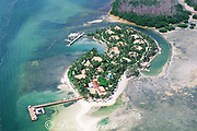 Little Palm Island (exclusive resort), lower Florida Keys, Florida, ( Western North Atlantic Ocean )