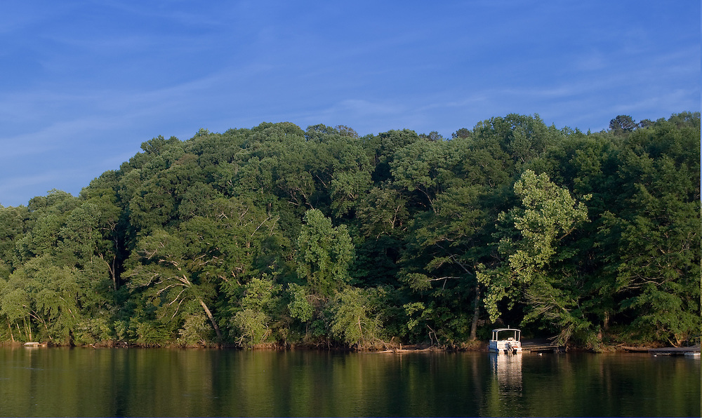 Boat on the Chattahoochee River