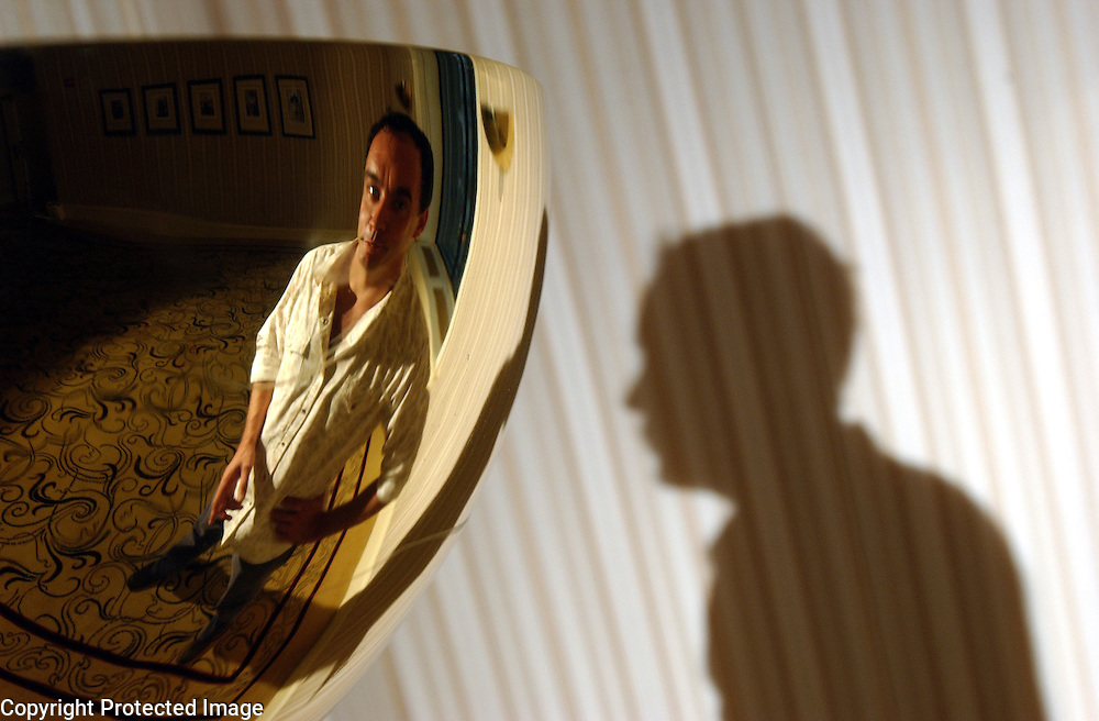 Musician Dave Matthews is seen in The Peninsula Hotel in Manhattan, NY. 8/30/2003 Photo by Jennifer S. Altman