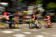 In Utrecht wordt de Ronde van Utrecht gehouden, een fietsevenement dat ieder jaar wordt gehouden sinds de start van de Tour de France in 2015.<br /> <br /> Cyclists ride with the Tour of Utrecht, part of the cycling festival the Tour of the Maliebaan.
