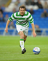 Lee Naylor of Celtic<br /> Cardiff City vs Celtic<br /> Pre-season friendly, Cardiff City Stadium, Cardiff, Wales, UK<br /> 22/07/2009. Credit Colorsport/Dan Rowley