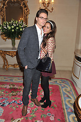 OLIVER PROUDLOCK and KARIN JOEL at Tatler's Jubilee Party in association with Thomas Pink held at The Ritz, Piccadilly, London on 2nd May 2012.