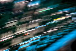 November 23, 2018 - Abu Dhabi, United Arab Emirates - SEBASTIAN VETTEL #5 (GER) of Scuderia Ferrari during practice for the FIA Formula One World Championship 2018, Grand Prix of Abu Dhabi. (Credit Image: © Hoch Zwei via ZUMA Wire)