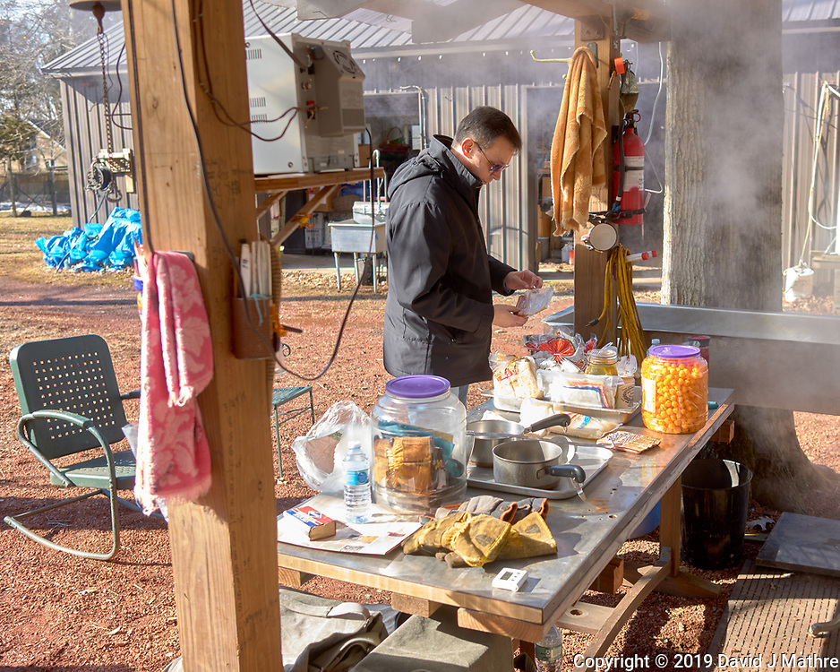 Feeding the workers. Maple Syrup Production. Image taken with a Leica CL camera and 23 mm f/2 lens.