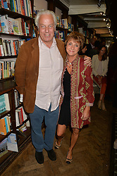 JEREMY WALSH and PRINCESS EMMA GALITZINE at a party to celebrate the publication of Stanley I Resume by Stanley Johnson at the Daunt Bookshop, Marylebone High Street, London on 23rd September 2014.