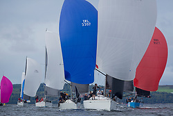 Largs Regatta Week 2017 <br /> Day 1<br /> <br /> GBR3627L, Animal, Kevin Aitken, CCC/RNCYC, First 36.7<br /> <br /> Picture Marc Turner